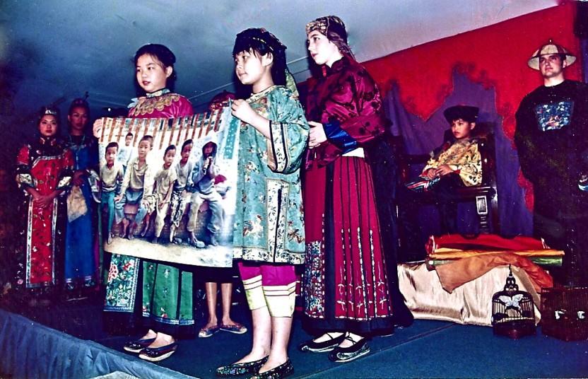 Showing the Sunbeam Village children
