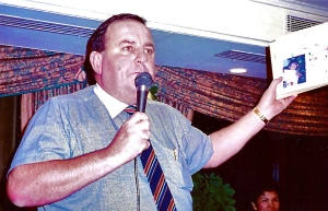 Nigel our auctioneer for ''Then & Now''