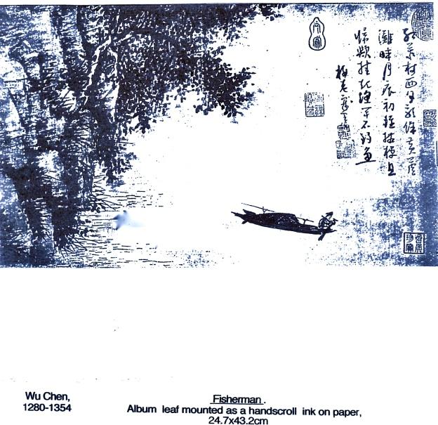 Wu Chen 1280-1354 'Fisherman'